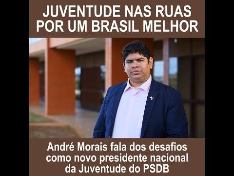 André Morais: juventude nas ruas por um Brasil melhor