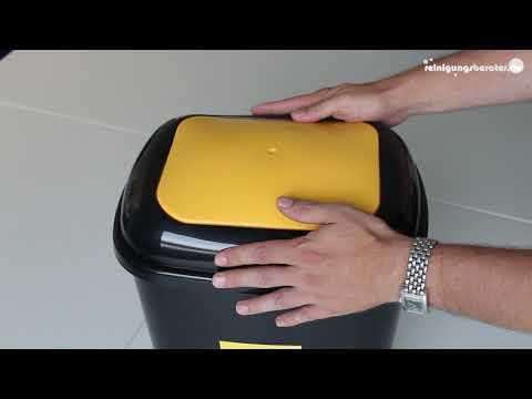Push-Deckel Abfalleimer bei www.ReinigungsBerater.de