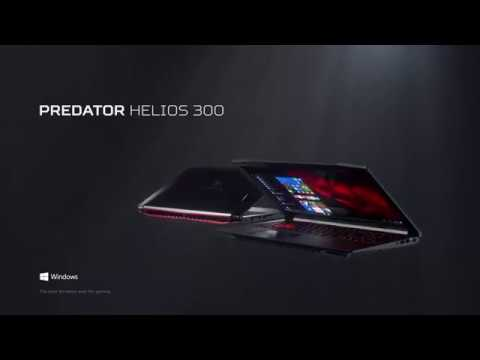 Laptop ACER Predator Helios 300 PH317-51-780P i7-7700HQ/8GB/SSD 128GB+1TB/GTX1050Ti/Win10