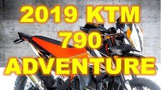3. 2019 KTM 790 Adventure, Three versions of the 790 Adventure in development