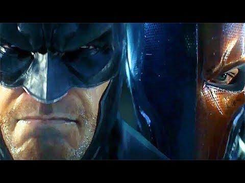 BATMAN Vs. Deathstroke EPIC Fight Scene Cinematic Battle
