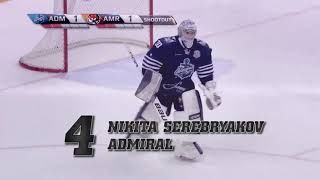 17/18 KHL Top 10 Saves for Week 24