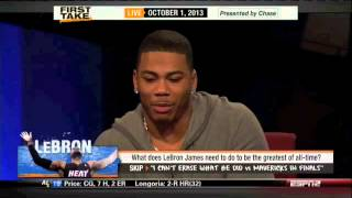 LeBron needs to win 7 straight Championships to top MJ - ESPN First Take