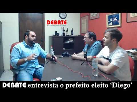 DEBATE entrevista o prefeito Diego Singolani