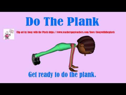 Do The Plank (Fitness and strength song for kids)