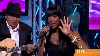 Kelly Rowland's Live Vocal Range: Ms. Kelly Era [D3-F5-G6] (2006-2008)