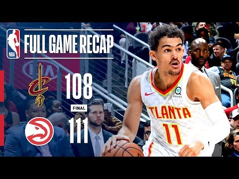 Video: Full Game Recap: Cavaliers vs Hawks | ATL Holds Off CLE