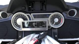 8. BMW K1600GT Audio Sound System Test
