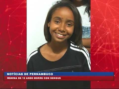 [BRASIL URGENTE PE] No Recife, menina de 12 anos morre com suspeita de dengue