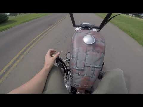Custom Suicide shifter bike ride.