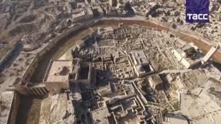 Исторический центр Алеппо с высоты птичьего полета