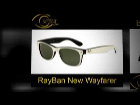 Lunettes solaires Rayban New Wayfarer - Montures de soleil Rayban New Wayfarer