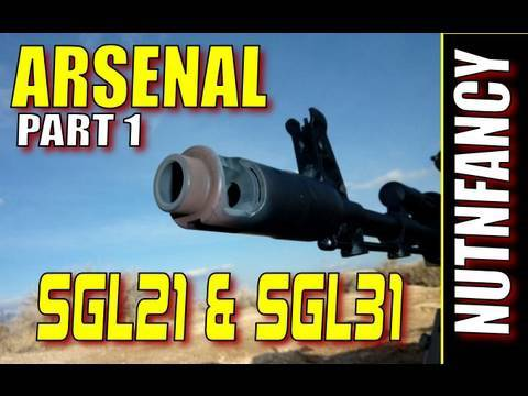 "ARSENAL SGL21/SGL31: ""The AK Gold Standard Pt 1″ by Nutnfancy"