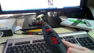 Bosch GRO 10,8V-LI посторонний звук в работе мотора