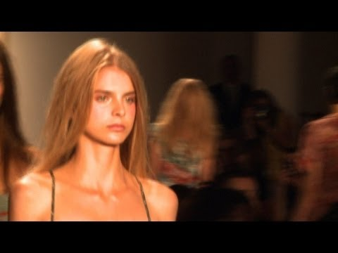 Rookie model aims to turn heads in first Fashion Week