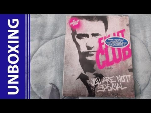 [Blu-Ray Unboxing] Fight Club: 10th Anniversary Edition