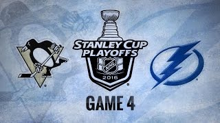 Lightning hold off Penguins in Game 4, even series by NHL