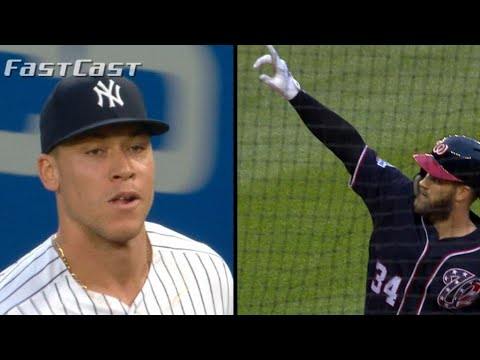 Video: MLB.com FastCast: Judge pitches Harper to NY - 2/5/19