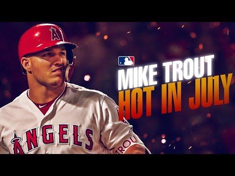 Video: Mike Trout - SMASHING baseballs in July   MLB Highlights