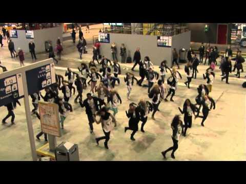 Flashmob Wereldvoedseldag 2012 Den Haag