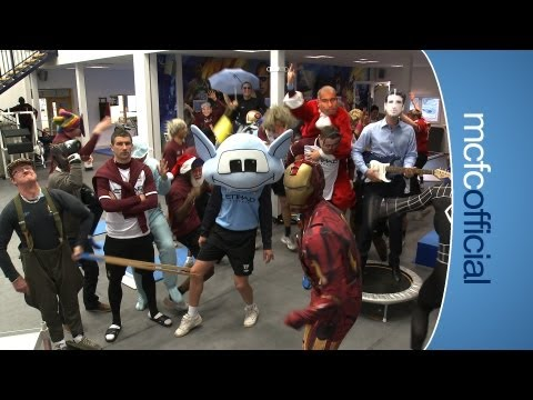 Manchester City FC do the Harlem Shake! #LOL @mcfc