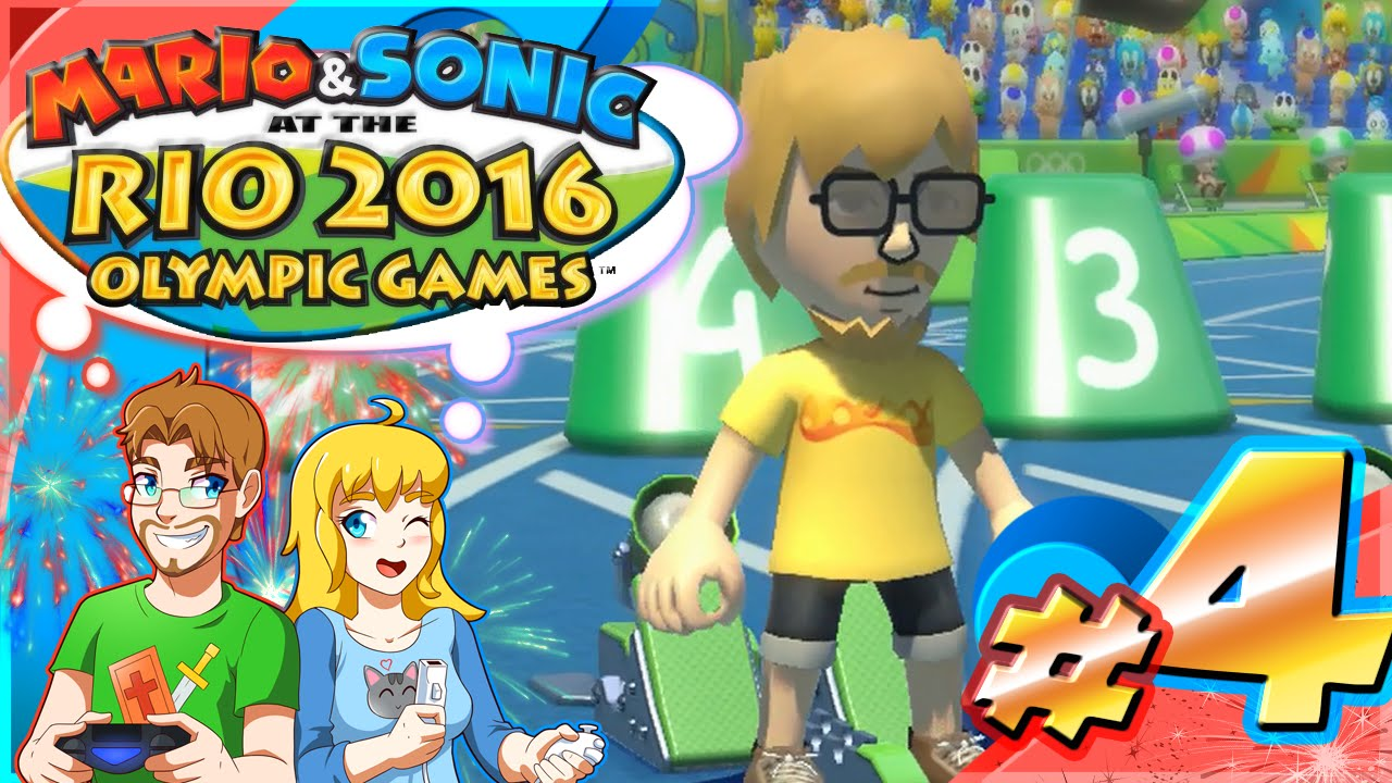 Mario & Sonic at the Rio 2016 Olympic Games Part 4 100 M Tournament