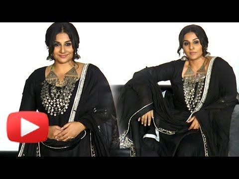 Vidya Balan Dresses As Begum Jaan At The Trailer L