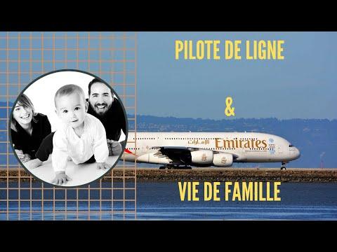 Comment CONCILIER UNE VIE DE FAMILLE AVEC LE MÉTIER DE PILOTE DE LIGNE ?