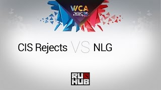 CIS Rejects vs NLG, game 1