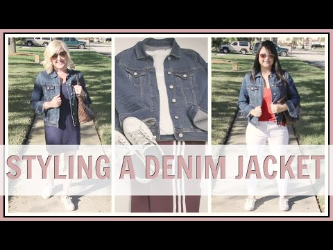 How to Style a Denim Jacket for Women Over 40 | How Mature Women Wear a Jean Jacket