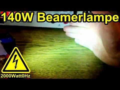 Beamer Hochdruck Lampe mit EVG Ansteuern