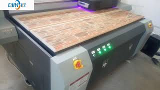 High Printing Speed Caiyi Digital UV Flatbed Printer for decoration printing CY-UV2030 youtube video