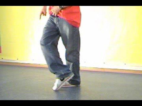 Обучающее видео popping (поппинг): crazy legs