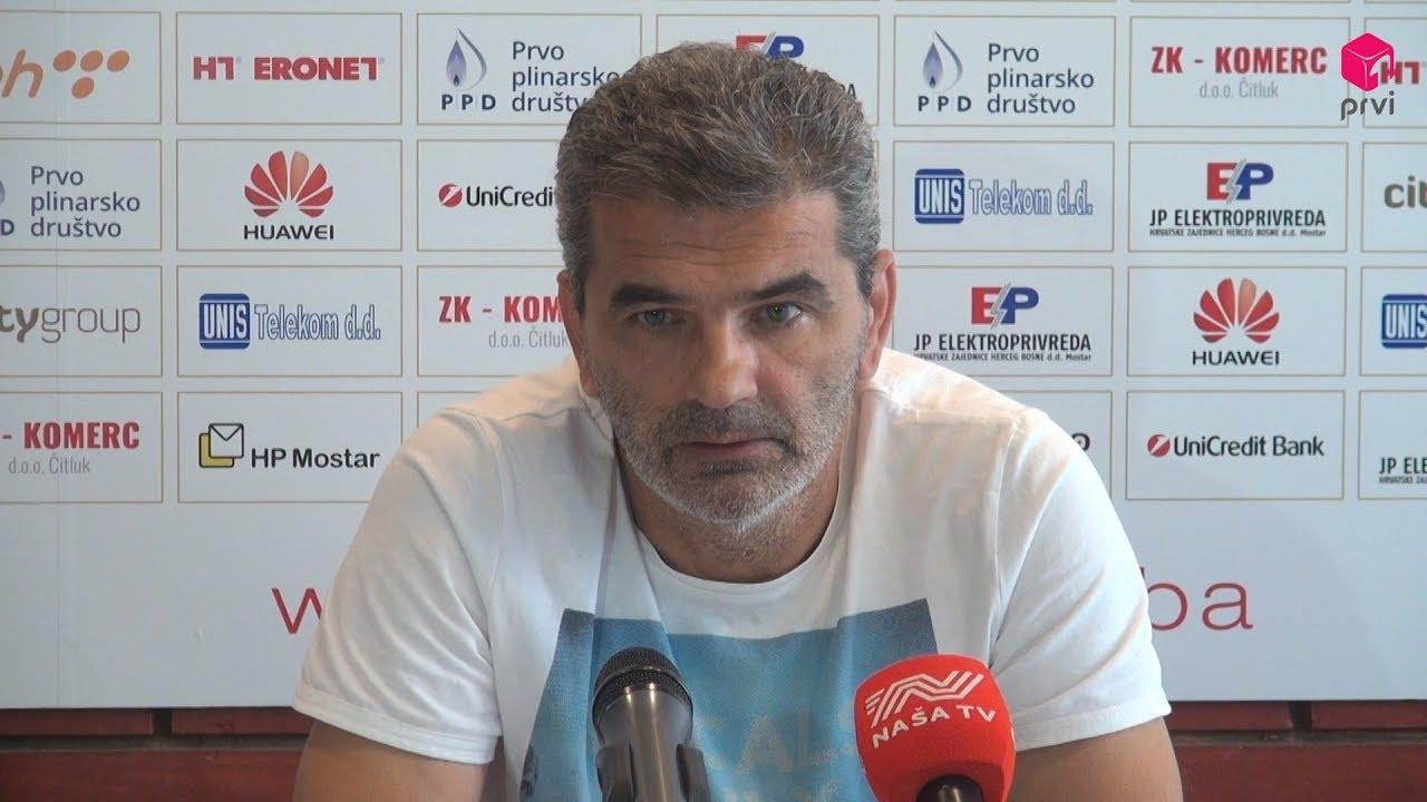 Slišković: Vjerujem da nas u Tuzli očekuje otvorena igra s obje strane