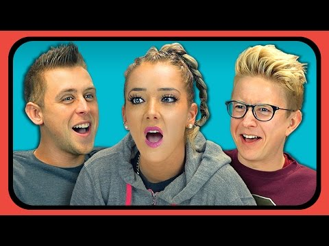 YOUTUBERS REACT TO JIMMY FALLON (The Tonight Show)