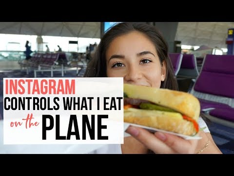 Instagram Controls What I Eat (while I TRAVEL)