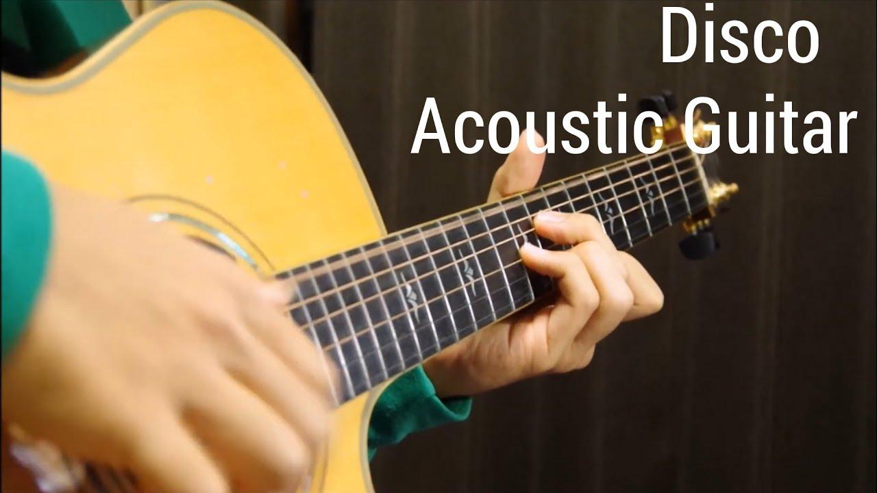 The Hustle – Disco – Van McCoy – Solo Acoustic Guitar – Arranged by Kent Nishimura