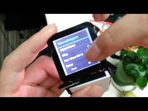 Omate's standalone smartwatch