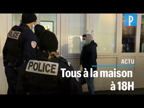 Couvre feu à 18 heures : à Paris, la police contrôle