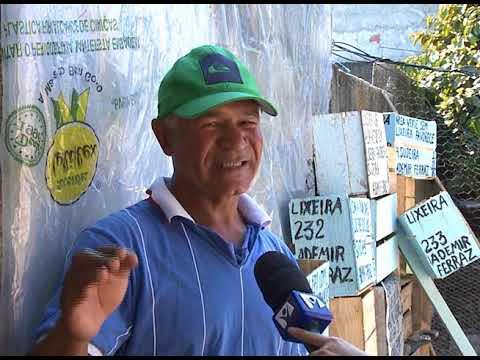 Morador de Pinda constrói 230 Lixeiras