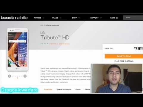 LG Tribute HD Official Phone Specs (Boost Mobile) HD