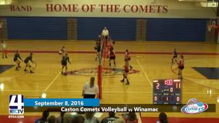 Caston Volleyball vs Winamac Warriors