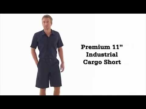 Dickies LR542 11 Inch Industrial Cargo Shorts