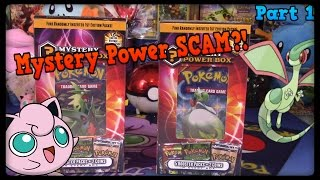 Pokemon Cards! Mystery Power Box Opening! Part 1 of 2! by Master Jigglypuff and Friends
