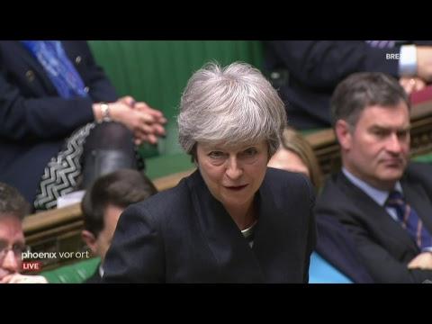 Sitzung des britischen Unterhauses nach dem EU-Sonder ...