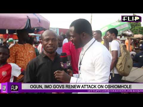 OGUN, IMO GOVS RENEW ATTACK ON OSHIOMHOLE