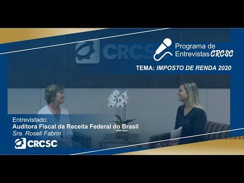 Entrevista com a Auditora Fiscal da Receita Federal do Brasil, Roseli Fabrin, sobre a declaração de Imposto de Renda 2020