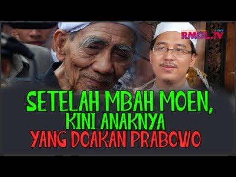 Setelah Mbah Moen, Kini Anaknya Yang Doakan Prabowo