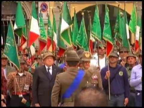Adunata Alpini Piacenza 2013 – Alzabandiera