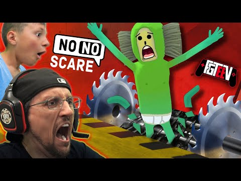 NO NO SQUARE GAME!  FGTeeV Funny VR CHAT Games The  GRINDER Wager
